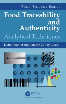 Food Traceability and Authenticity: Analytical Techniques, 1st Edition (Hardback) book cover