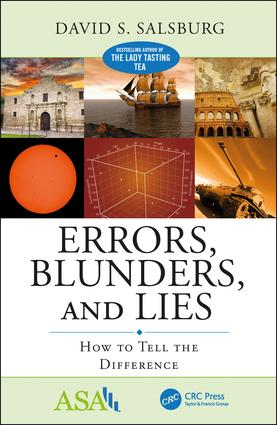 Errors, Blunders, and Lies: How to Tell the Difference book cover