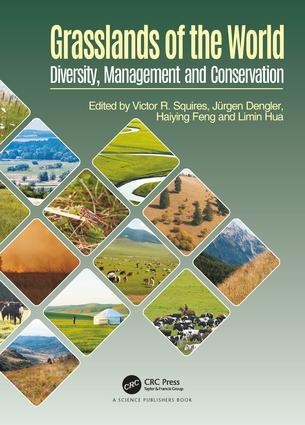 Grasslands of the World: Diversity, Management and Conservation, 1st Edition (Hardback) book cover