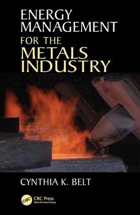 Energy Management for the Metals Industry: 1st Edition (Paperback) book cover