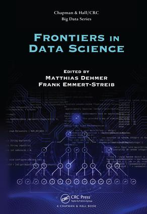 Frontiers in Data Science: 1st Edition (Hardback) book cover