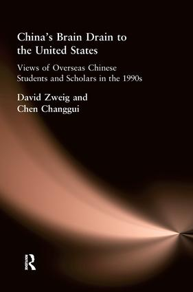 China'S Brain Drain To Uni Sta (Paperback) book cover