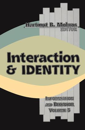 Interaction and Identity book cover