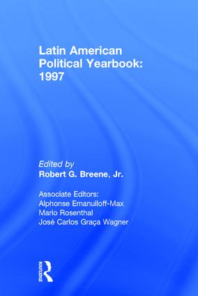 Latin American Political Yearbook: 1997, 1st Edition (Hardback) book cover