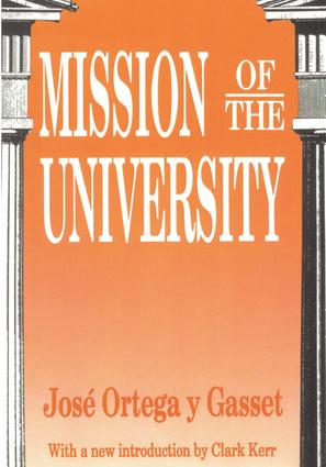 Mission of the University: 1st Edition (Paperback) book cover