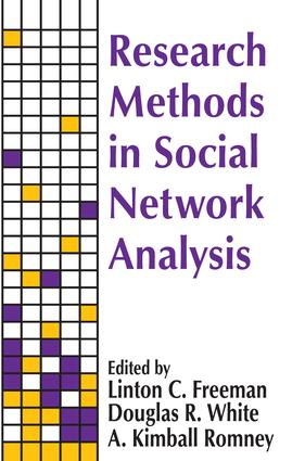 Research Methods in Social Network Analysis: 1st Edition (Paperback) book cover