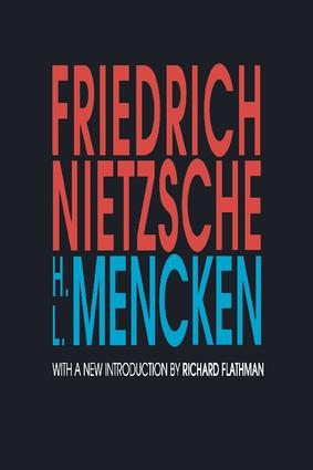 Friedrich Nietzsche: 1st Edition (Paperback) book cover