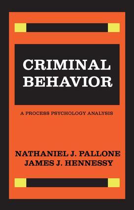 Criminal Behavior: 1st Edition (Paperback) book cover
