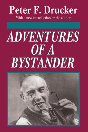 Adventures of a Bystander: 1st Edition (Paperback) book cover