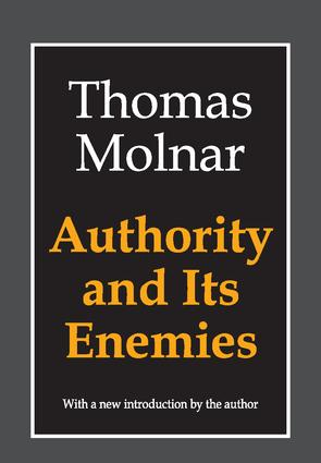 Authority and Its Enemies: 2nd Edition (Paperback) book cover