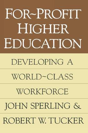Adult-Centered Universities: Education for the American Workforce