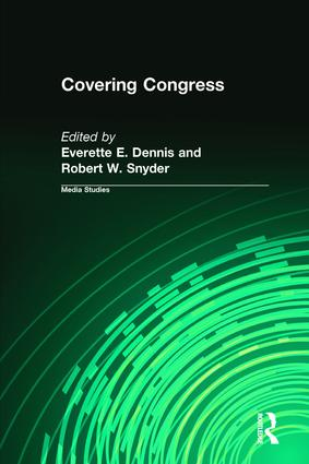 Covering Congress: 1st Edition (Paperback) book cover
