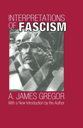 Interpretations of Fascism: 1st Edition (Paperback) book cover