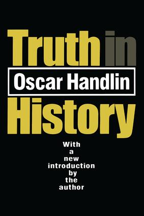 Truth in History: 1st Edition (Paperback) book cover