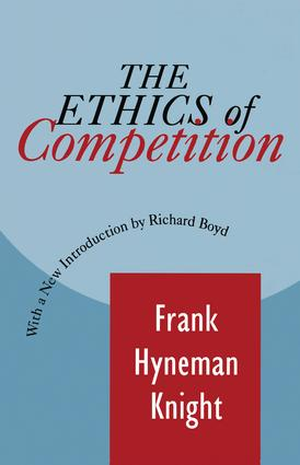 The Ethics of Competition: 1st Edition (Paperback) book cover
