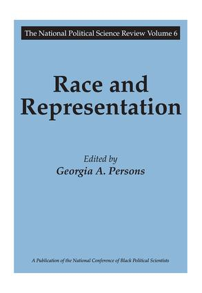 Race and Representation: 1st Edition (e-Book) book cover