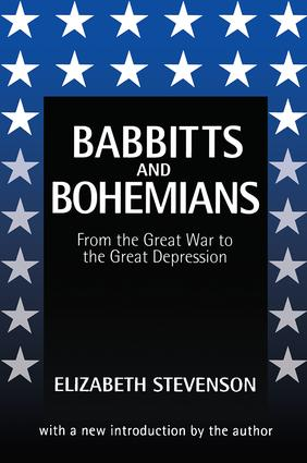Babbitts and Bohemians from the Great War to the Great Depression: 1st Edition (Paperback) book cover
