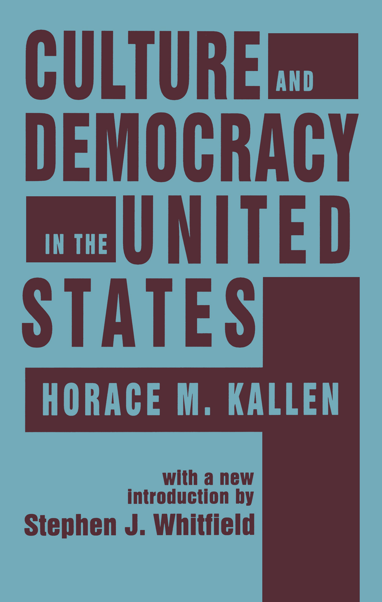 Culture and Democracy in the United States