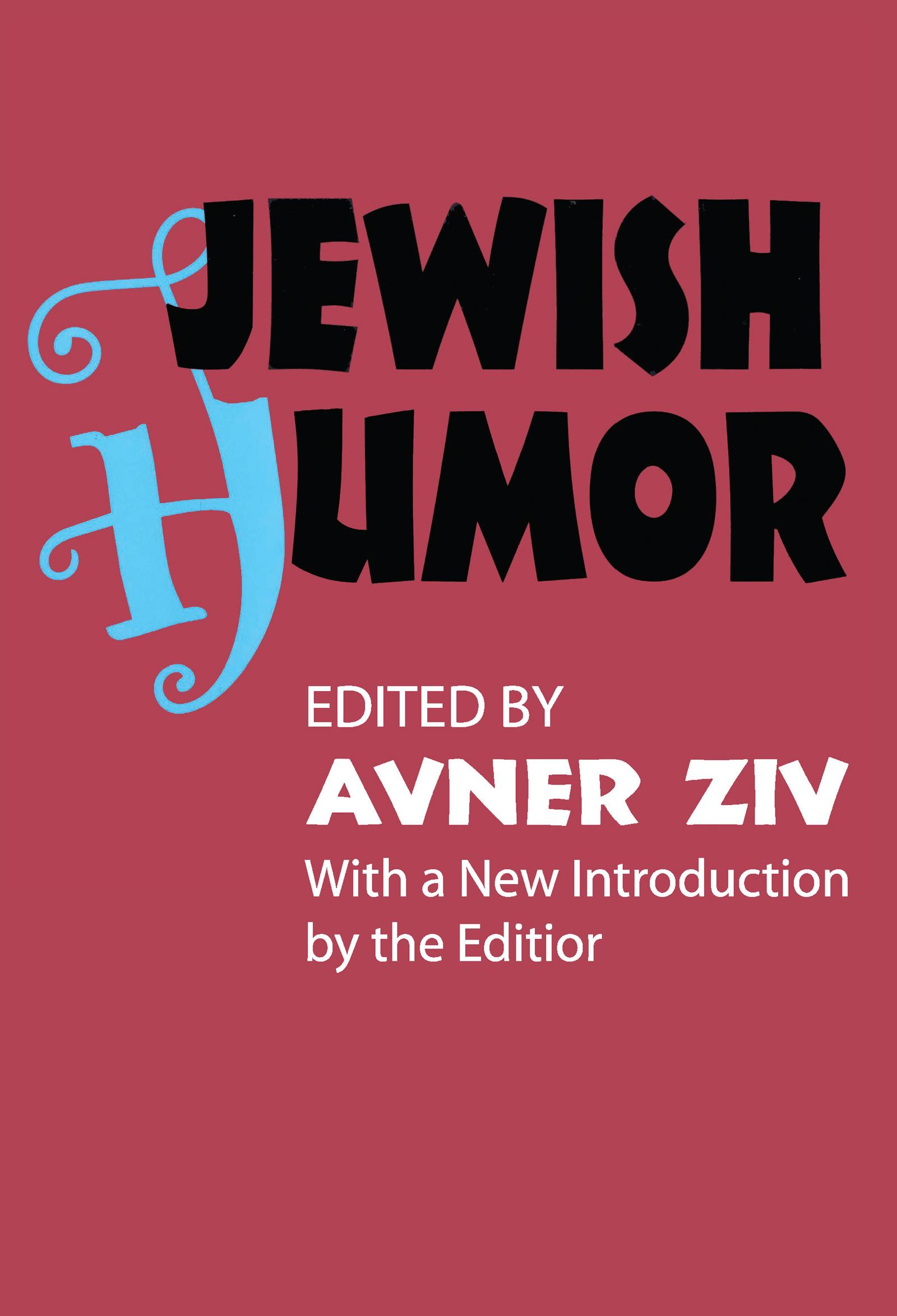 Jewish Humor: 1st Edition (e-Book) book cover