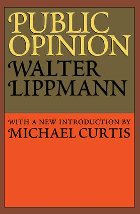 Public Opinion: 1st Edition (Paperback) book cover