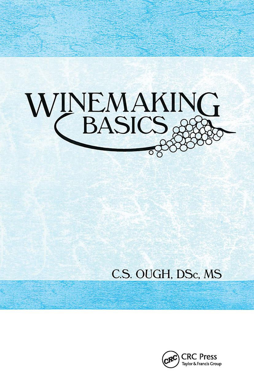 Winemaking Basics: 1st Edition (Hardback) book cover