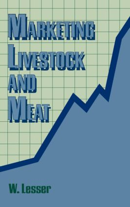 Marketing Livestock and Meat: 1st Edition (Paperback) book cover