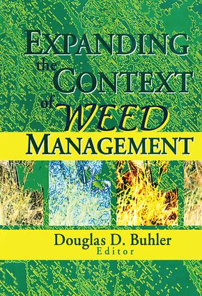 Expanding the Context of Weed Management: 1st Edition (Paperback) book cover