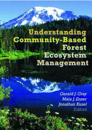 Understanding Community-Based Forest Ecosystem Management (Paperback) book cover