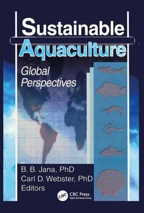 Sustainable Aquaculture: Global Perspectives, 1st Edition (Paperback) book cover