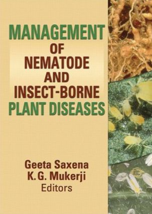 Management of Nematode and Insect-Borne Diseases: 1st Edition (Paperback) book cover