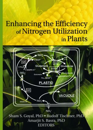 Enhancing the Efficiency of Nitrogen Utilization in Plants: 1st Edition (Paperback) book cover