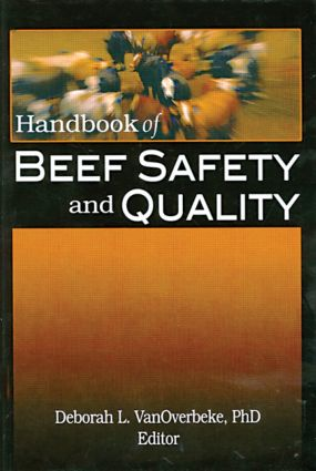 Handbook of Beef Safety and Quality: 1st Edition (Paperback) book cover