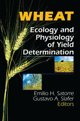 Wheat: Ecology and Physiology of Yield Determination, 1st Edition (Paperback) book cover