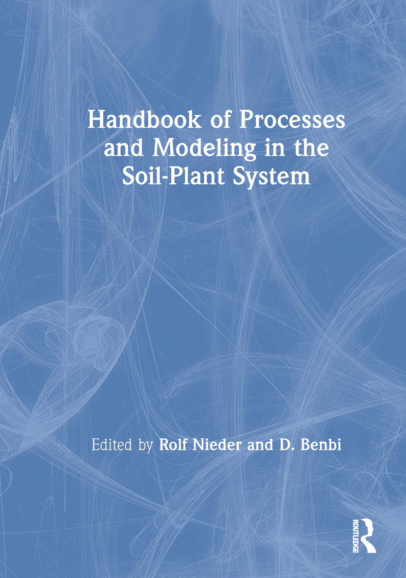 Handbook of Processes and Modeling in the Soil-Plant System: 1st Edition (Paperback) book cover