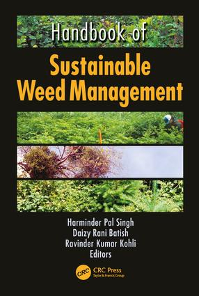 Handbook of Sustainable Weed Management: 1st Edition (Paperback) book cover