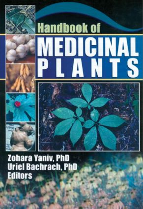 Handbook of Medicinal Plants: 1st Edition (Paperback) book cover