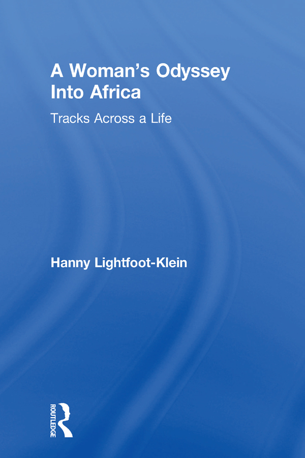 A Woman's Odyssey Into Africa: Tracks Across a Life, 1st Edition (Paperback) book cover