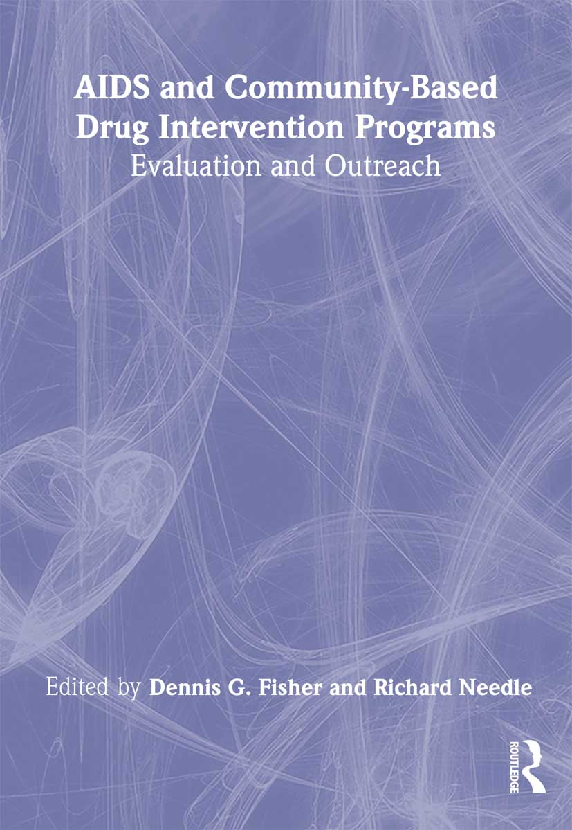 AIDS and Community-Based Drug Intervention Programs: Evaluation and Outreach, 1st Edition (Paperback) book cover
