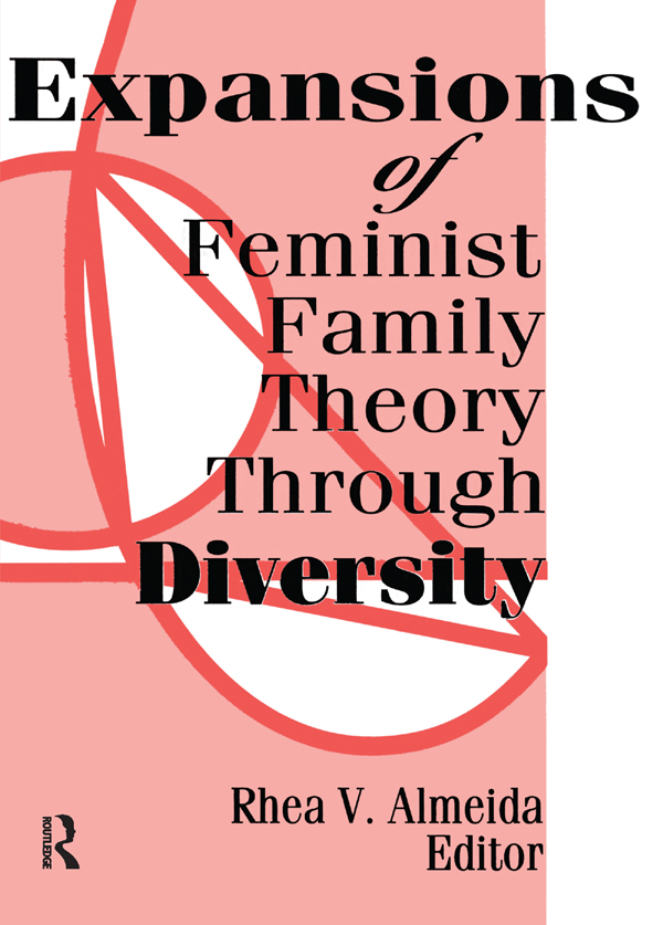 Expansions of Feminist Family Theory Through Diversity: 1st Edition (Paperback) book cover