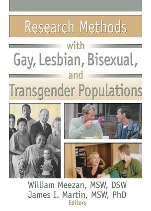 Research Methods with Gay, Lesbian, Bisexual, and Transgender Populations (Paperback) book cover
