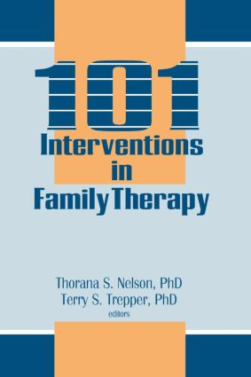 101 Interventions in Family Therapy (Paperback) book cover