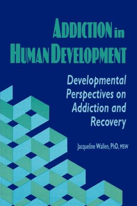 Addiction in Human Development: Developmental Perspectives on Addiction and Recovery (Paperback) book cover