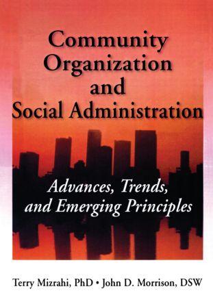 Community Organization and Social Administration