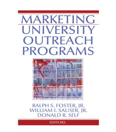 Marketing University Outreach Programs book cover