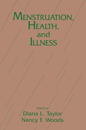 Menstruation, Health And Illness book cover