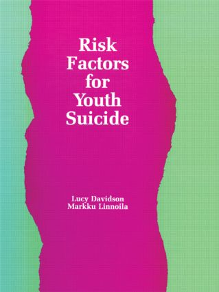 Risk Factors for Youth Suicide (Hardback) book cover