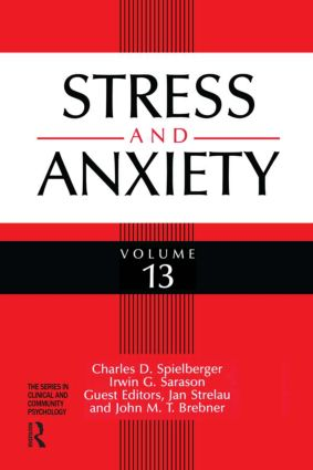 Stress And Anxiety (Hardback) book cover