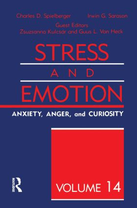 Stress And Emotion: 1st Edition (Hardback) book cover