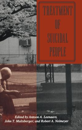 Treatment Of Suicidal People (Hardback) book cover