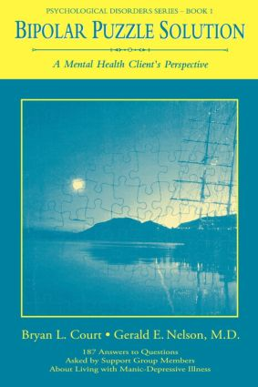 Bipolar Puzzle Solution: A Mental Health Client's Perspective (e-Book) book cover